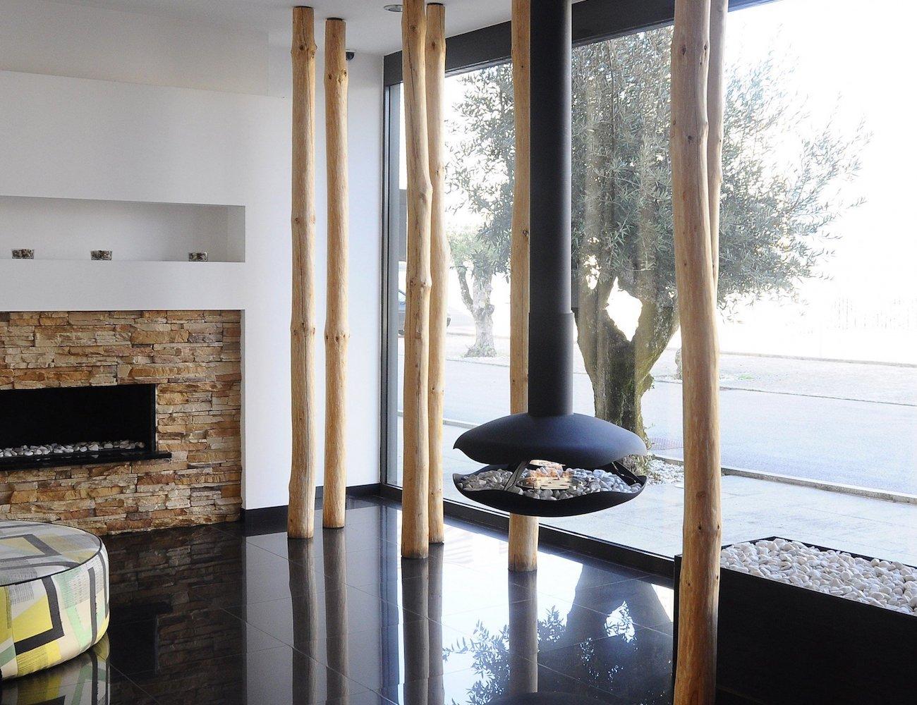 GlammFire Perola Bioethanol Hanging Fireplace
