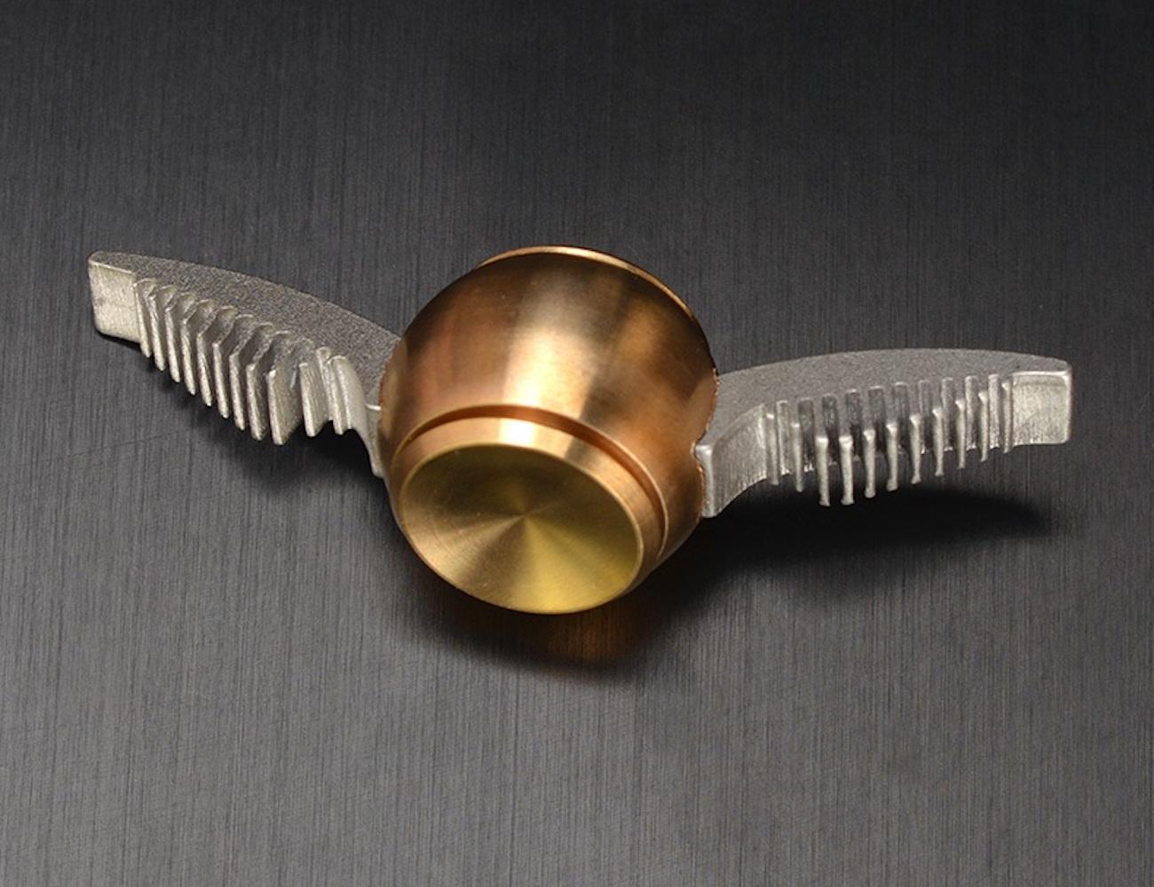 Golden Snitch Fidget Spinner