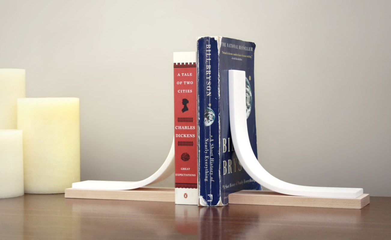 Igloo Studio Minimalist Bookends