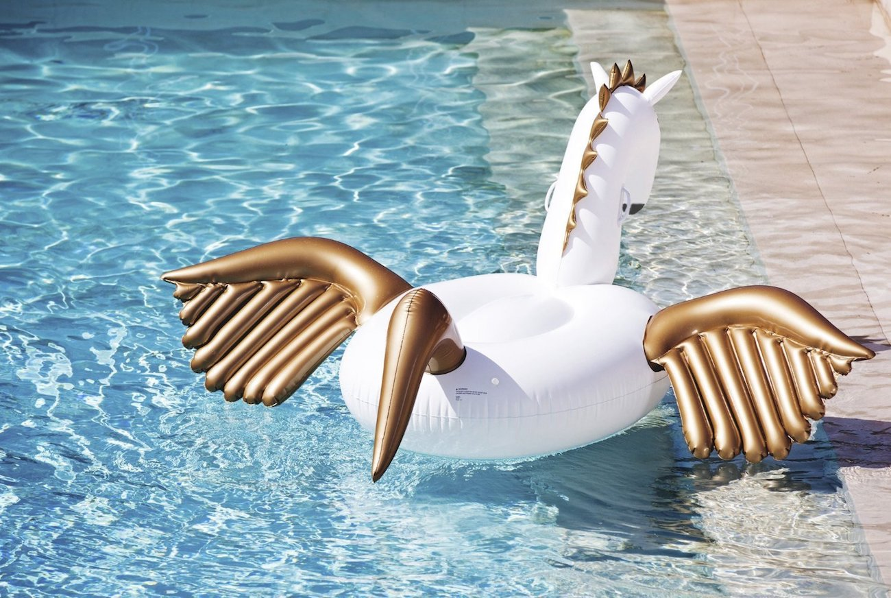 jasonwell giant inflatable pegasus pool float gadget flow
