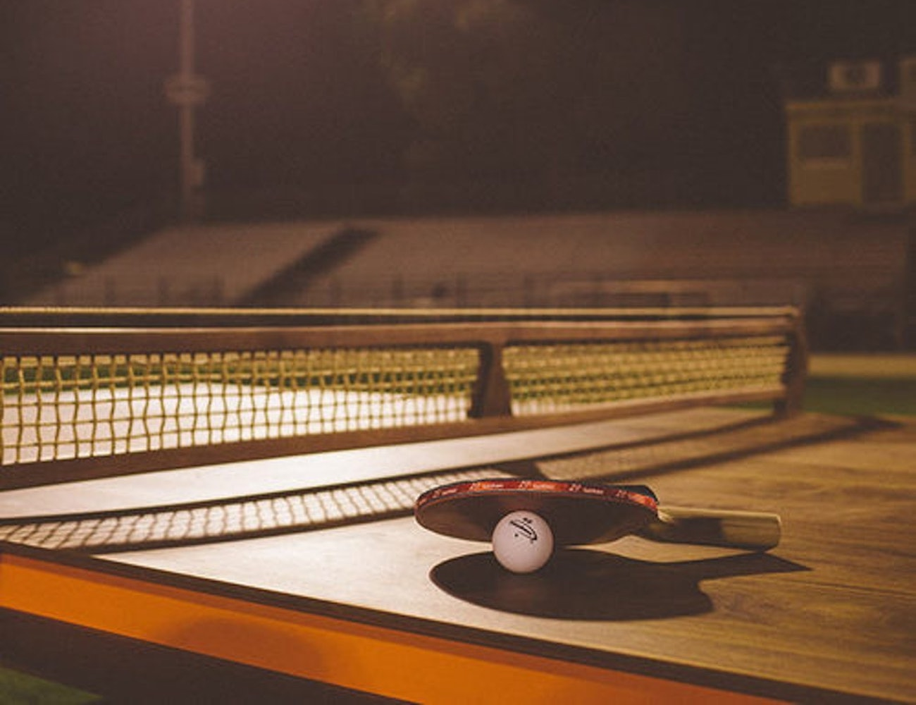 Jory Brigham Mackenrow Wooden Table Tennis