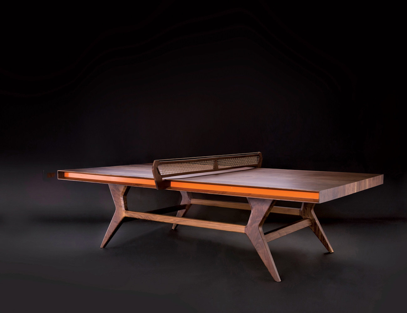 Jory Brigham Mackenrow Wooden Table Tennis