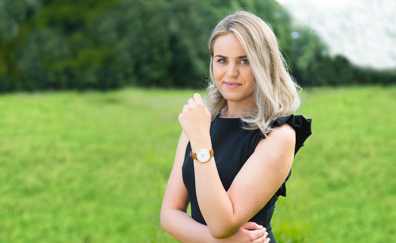 Jotunheim Lady Scandinavian Ruby Watch