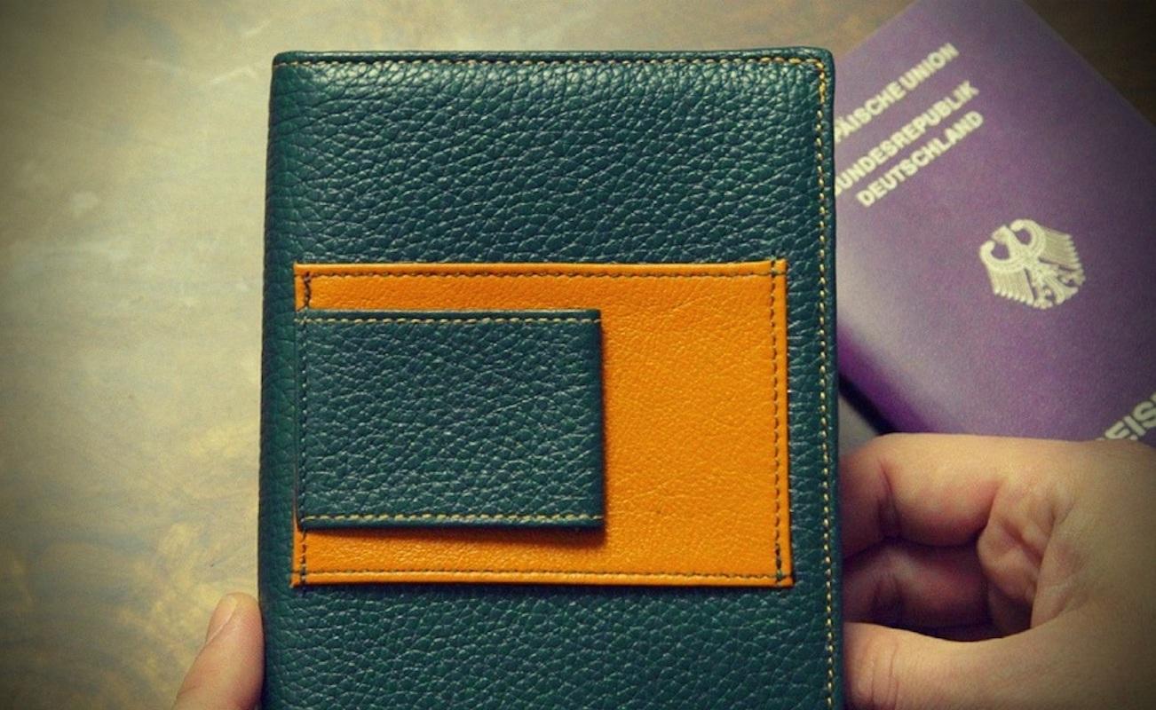 KITMANA Convertible RFID Travel Wallet
