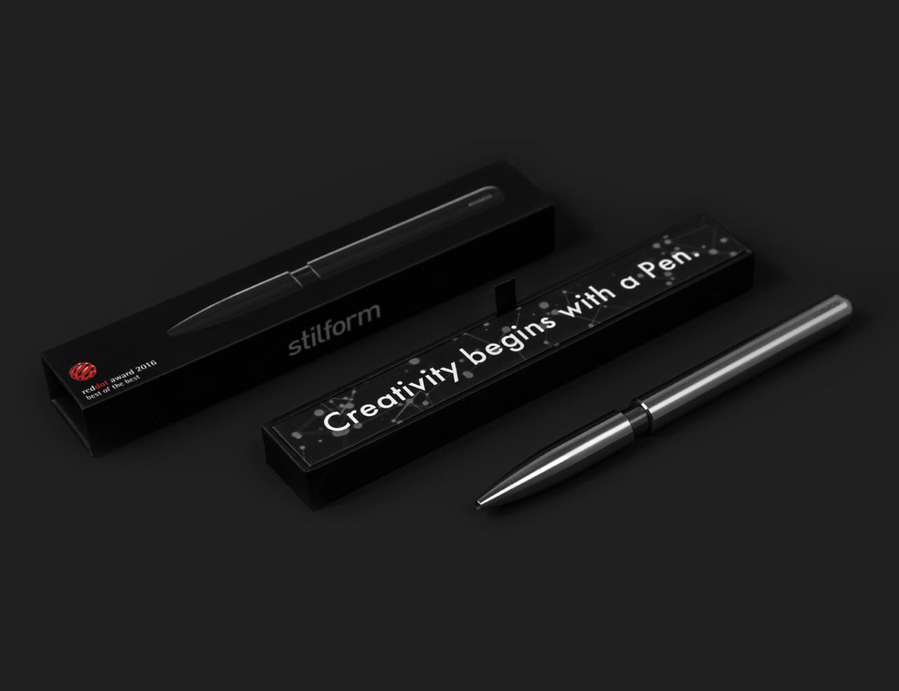 KOSMOS Titanium Intuitive Pen
