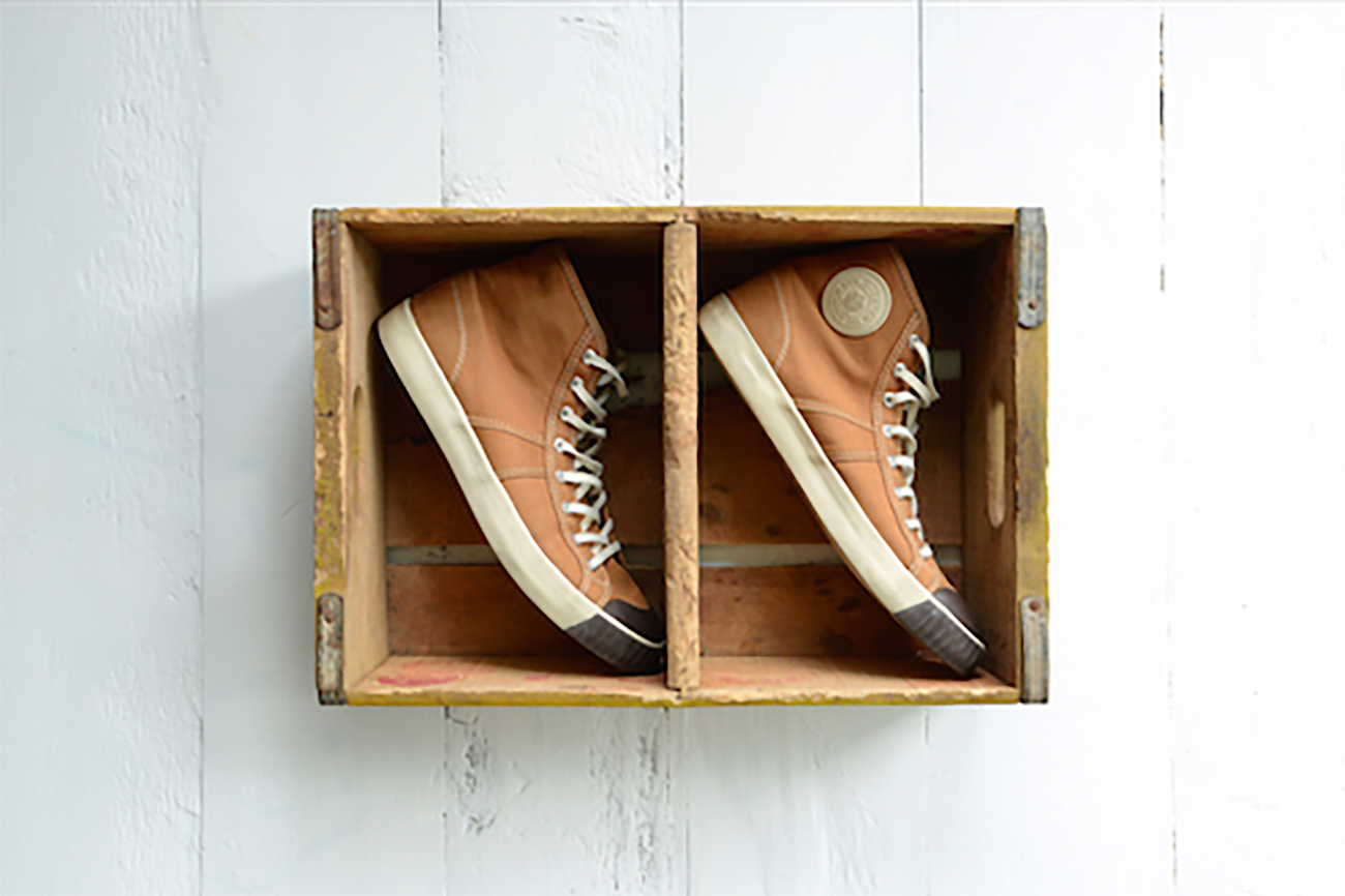 Colchester Rubber Co. World's First Basketball Sneakers