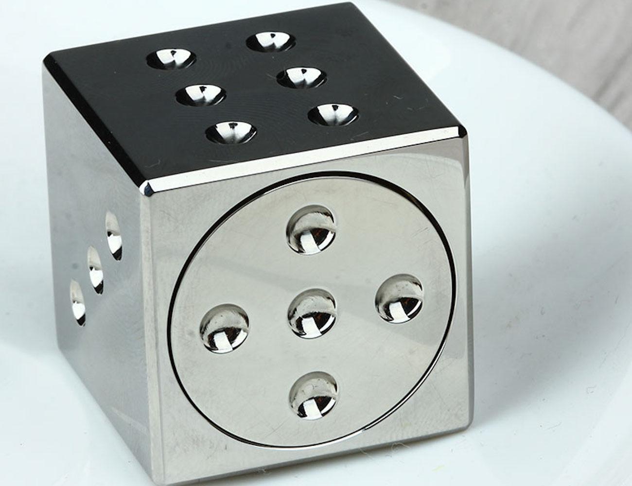 Metal Dice Fidget Cube