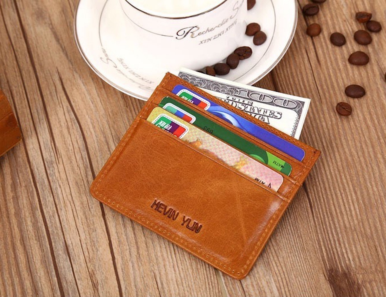 Mini Pocket Vintage Card Holder