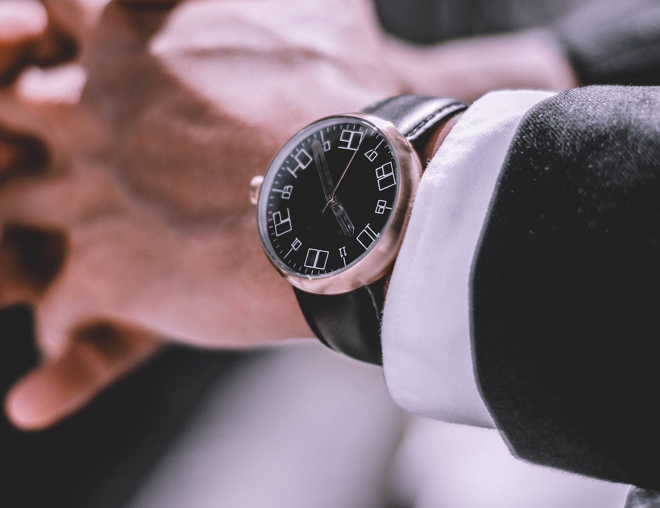 Monsieur Alliage Bold Watch Collection