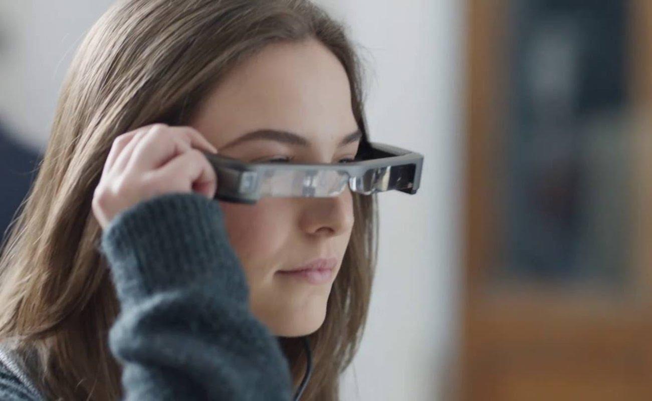 Moverio BT-300 Smart AR Glasses
