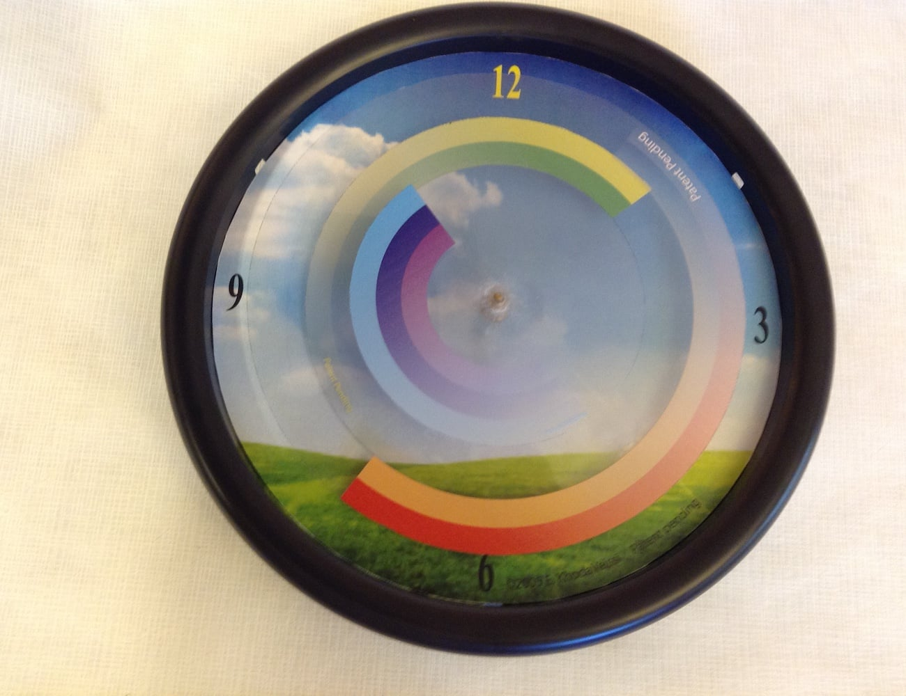 My Rainbow Clock