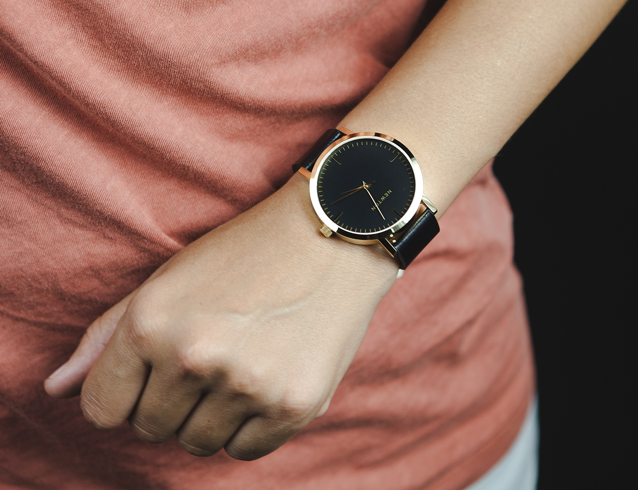 Newton SoHo Minimalist Handcrafted Watch