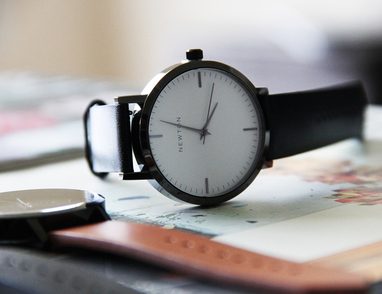Newton SoHo Minimalist Handcrafted Watch