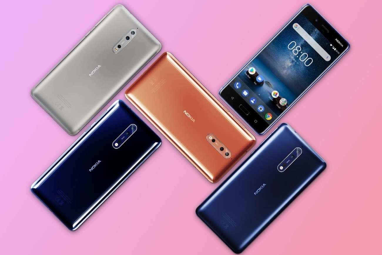 Nokia 8 Dual-Sight Camera Smartphone