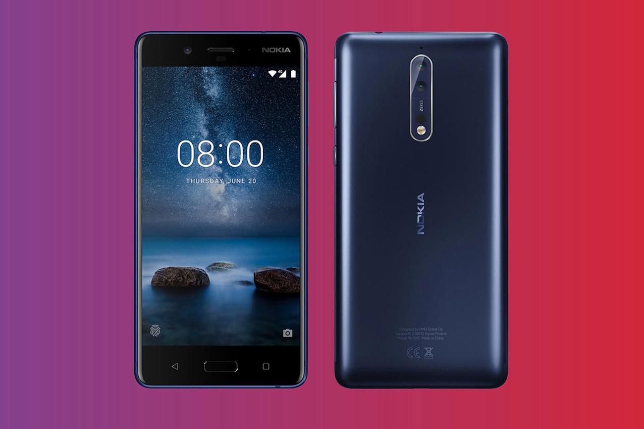 Nokia 8 Dual-Sight Camera Smartphone