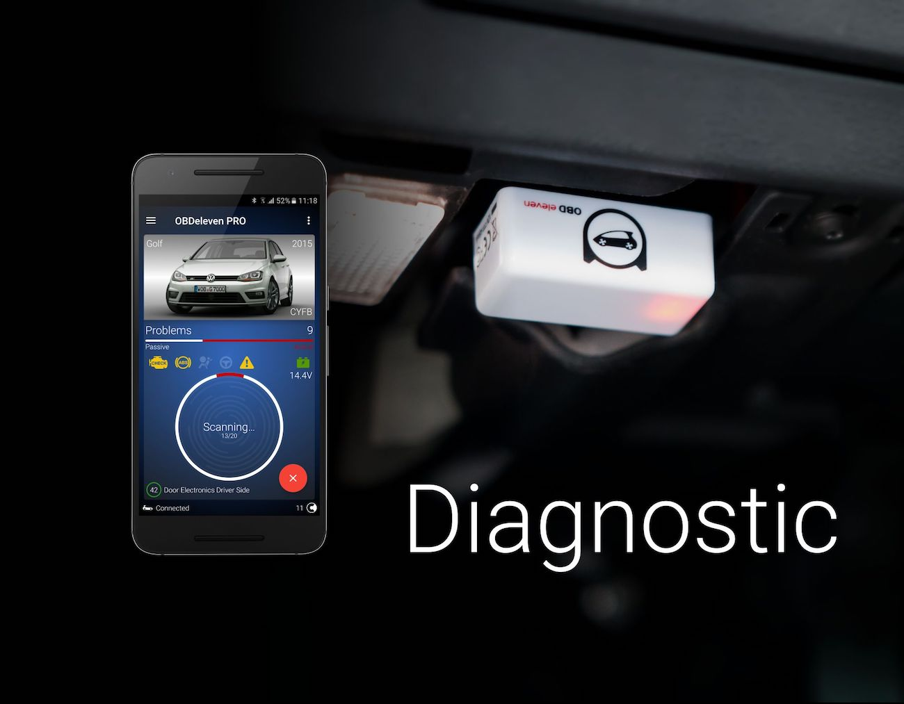 OBDeleven Car Diagnostics Device
