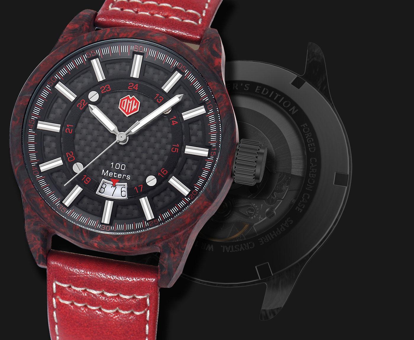 OMW Elementor Sports Car Watches