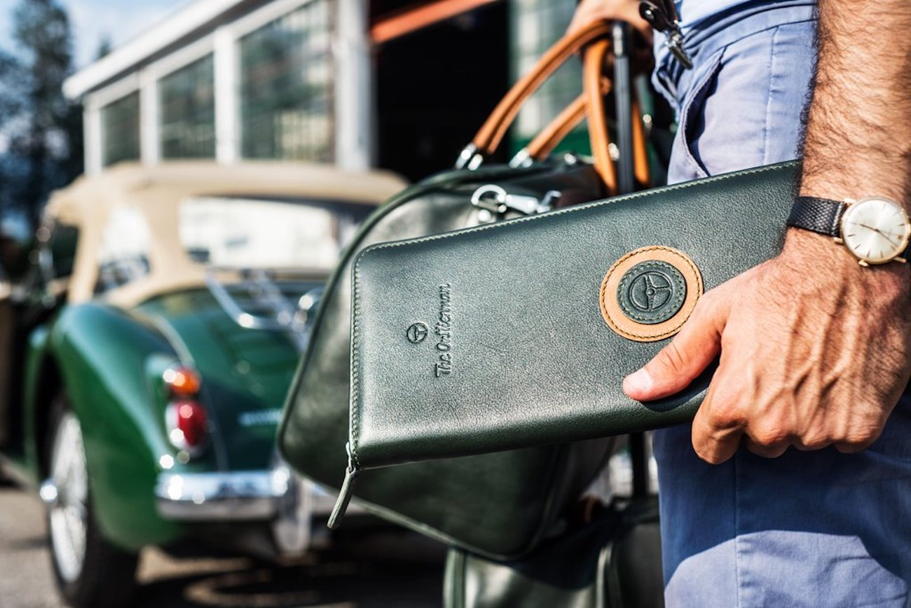 Outlierman Leather Travel Tie Case