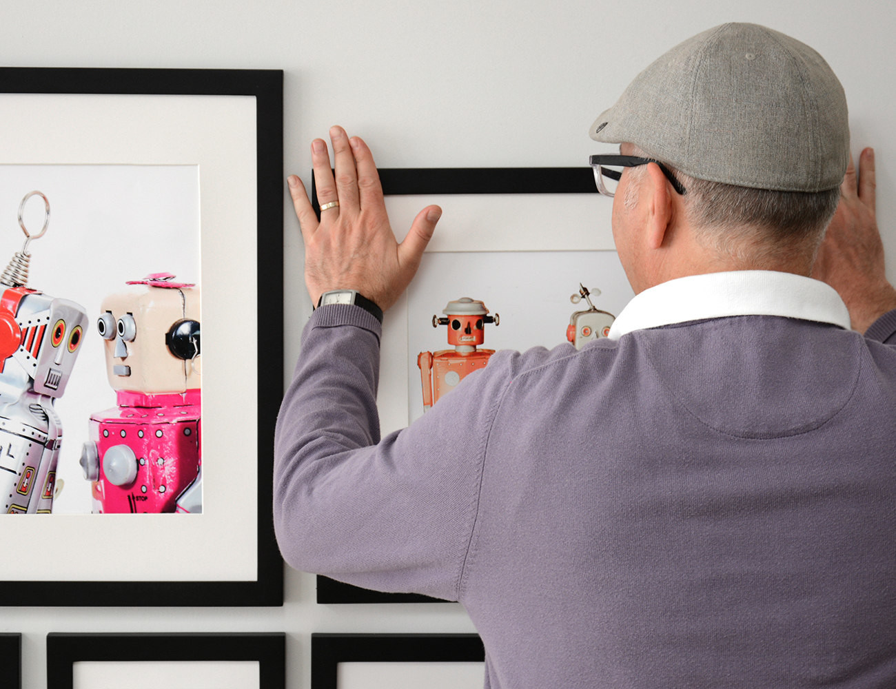 Place&Push™ Easy Hang Picture Frames