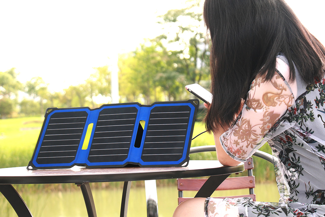 Powerleaf+ Outdoor Solar Panel Charger