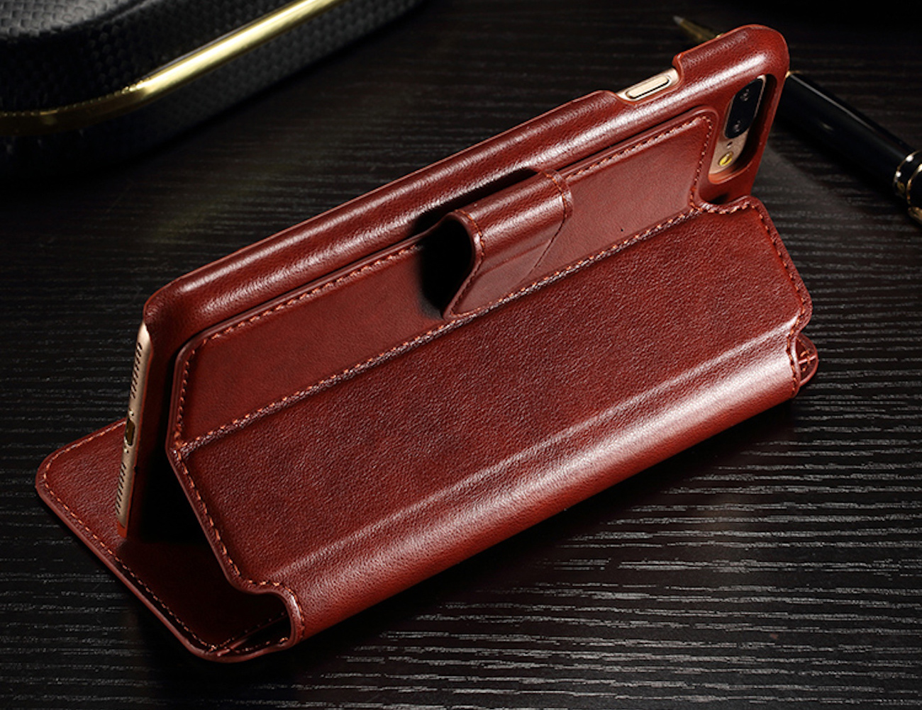 Rugged iPhone Wallet Case