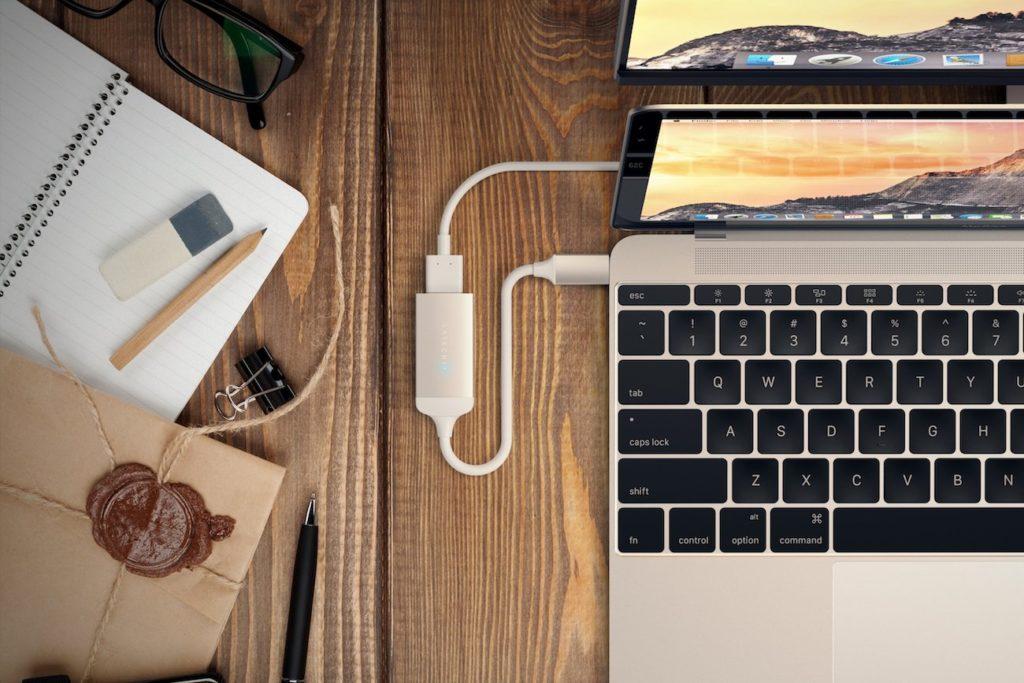 Satechi+Aluminum+Type-C+to+HDMI+Adapter