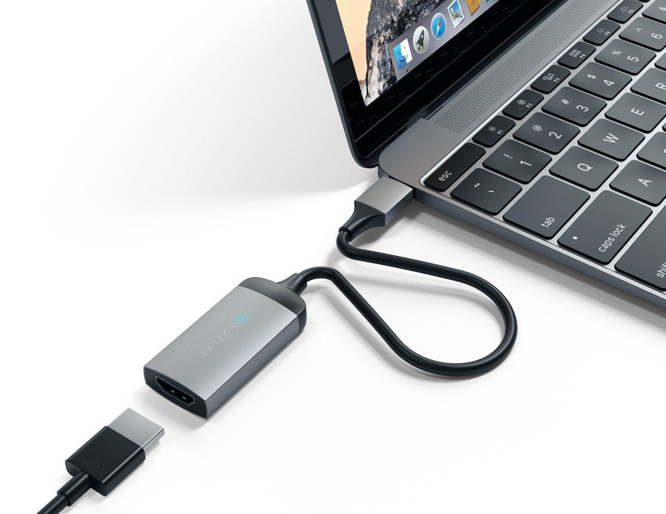 Satechi Aluminum Type-C to HDMI Adapter