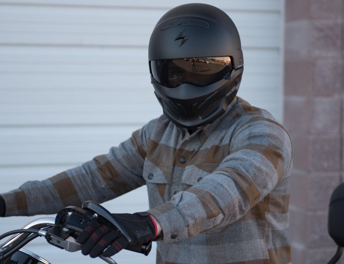 Scorpion+Exo+Covert+Matte+Black+Helmet