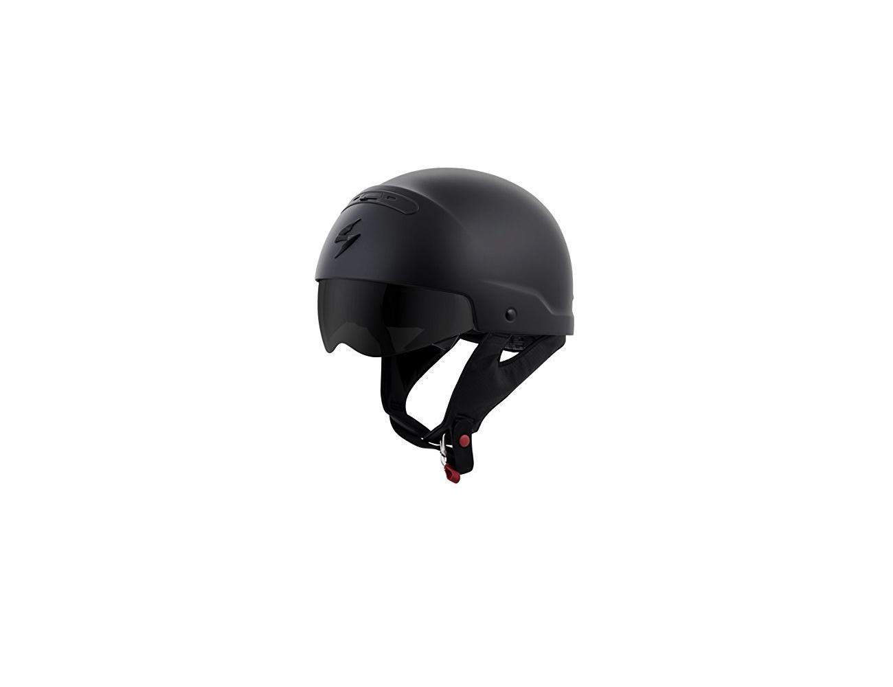 Scorpion Exo Covert Matte Black Helmet