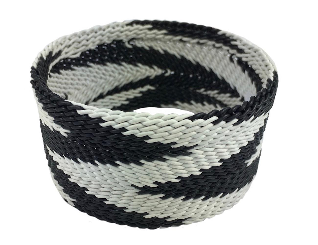 Slate + Salt Handmade Chevron Wire Bangle