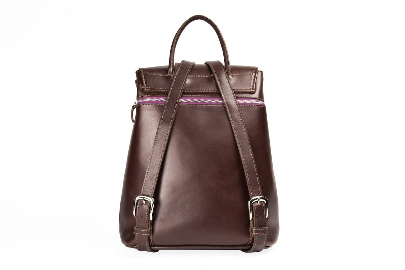Solomon Chancellor Ella Leather Backpack