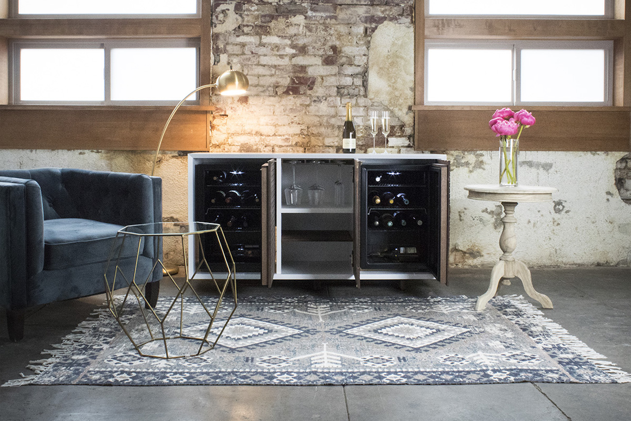Sommi Brock Series Dual Wine Fridge