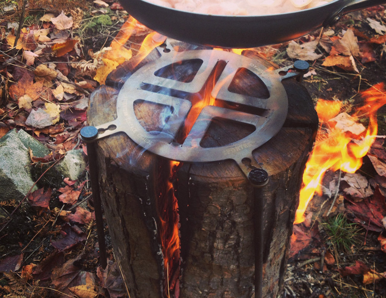 Sportes Swedish Fire Log Grill