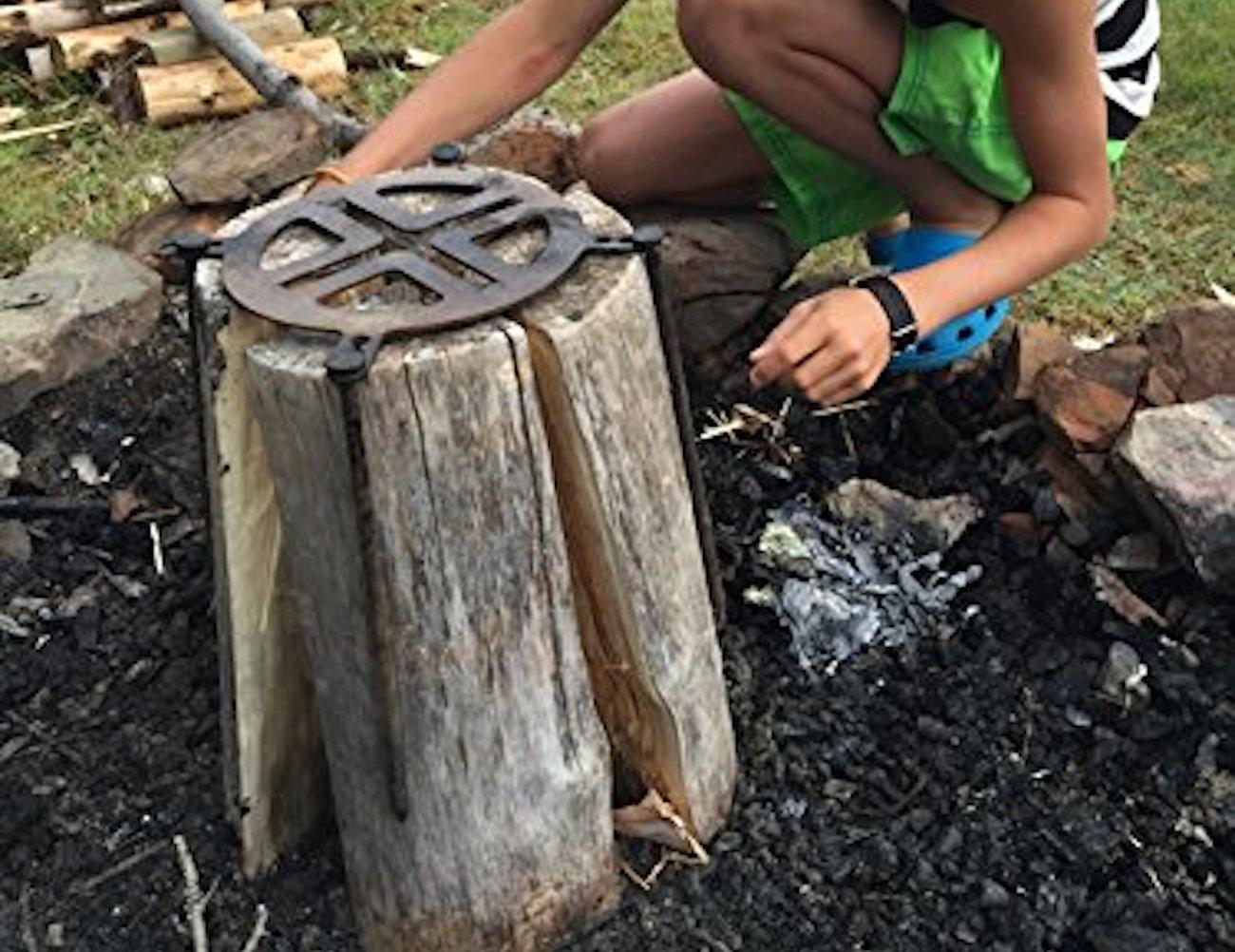 Sportes Swedish Fire Log Grill