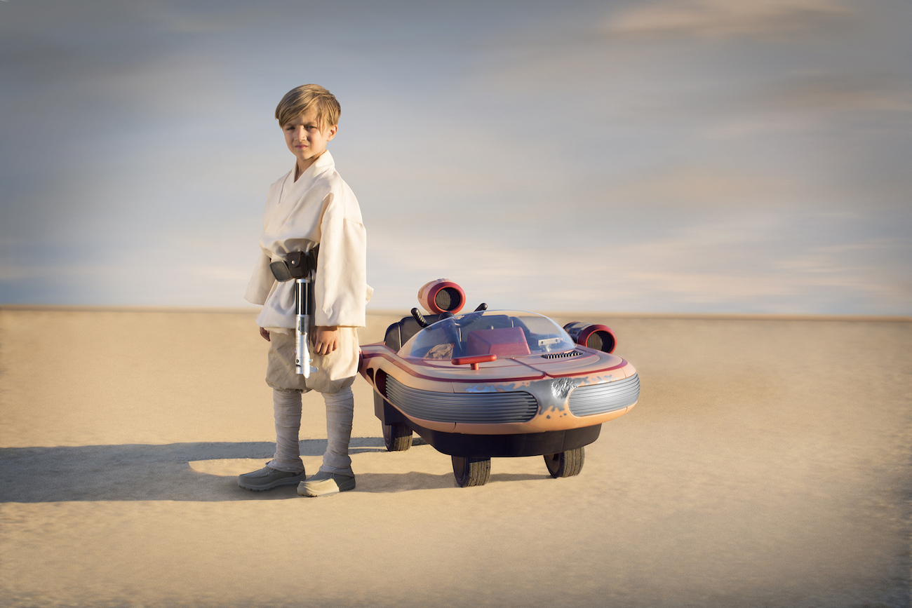 Star Wars Luke Skywalker Landspeeder