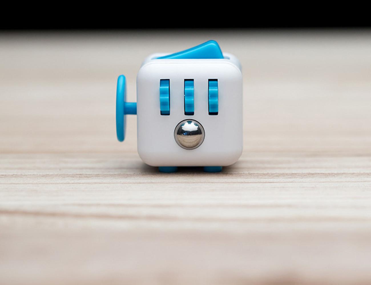 Stress Relieving Mini Fidget Cube