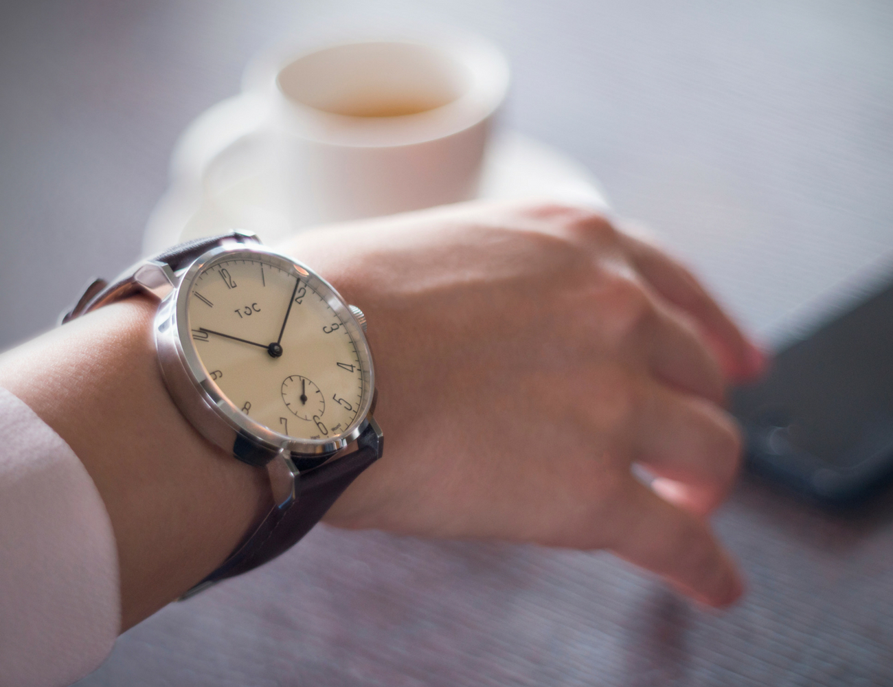 Toc19 Custom Hand Wound Watch