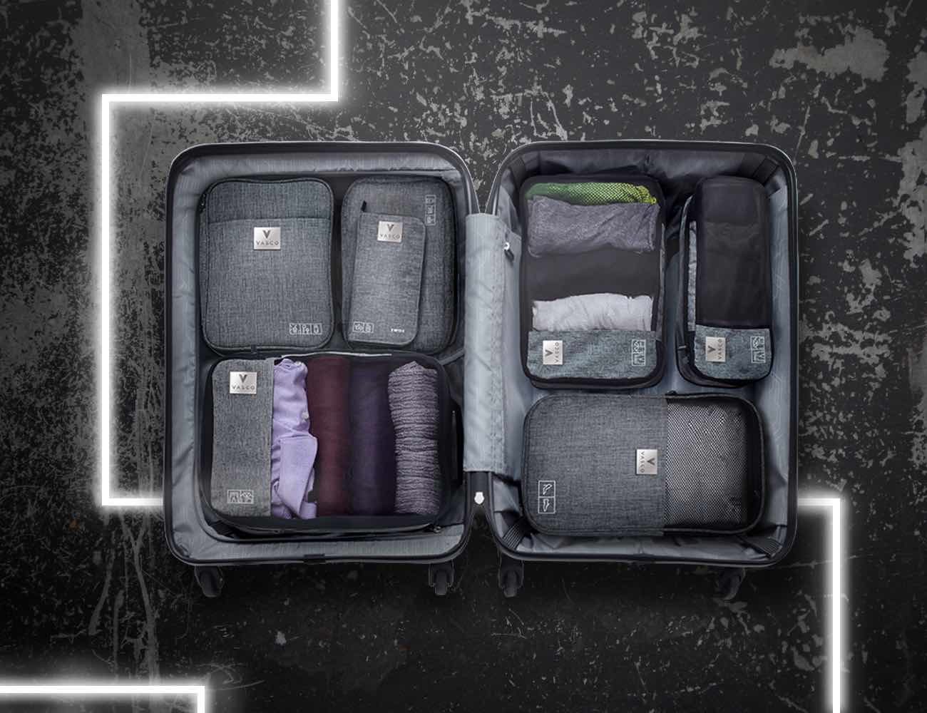 Vasco 7-Piece Smart Packing Luggage