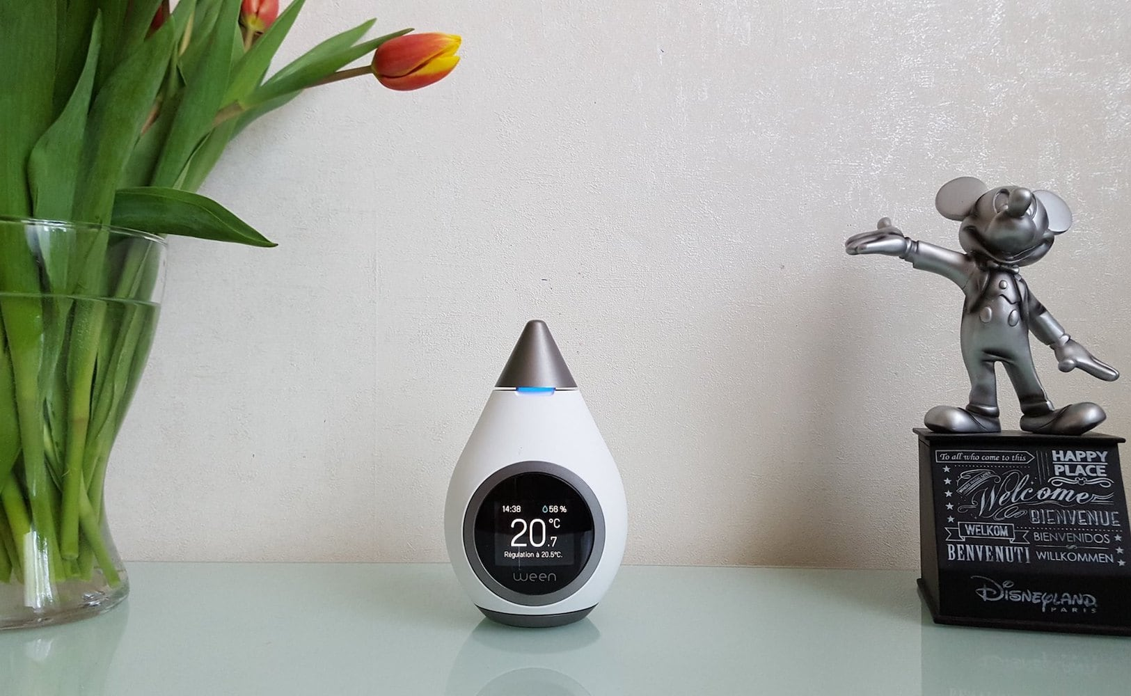 Ween Life-Responsive Smart Thermostat reduces heating expenses when you're away