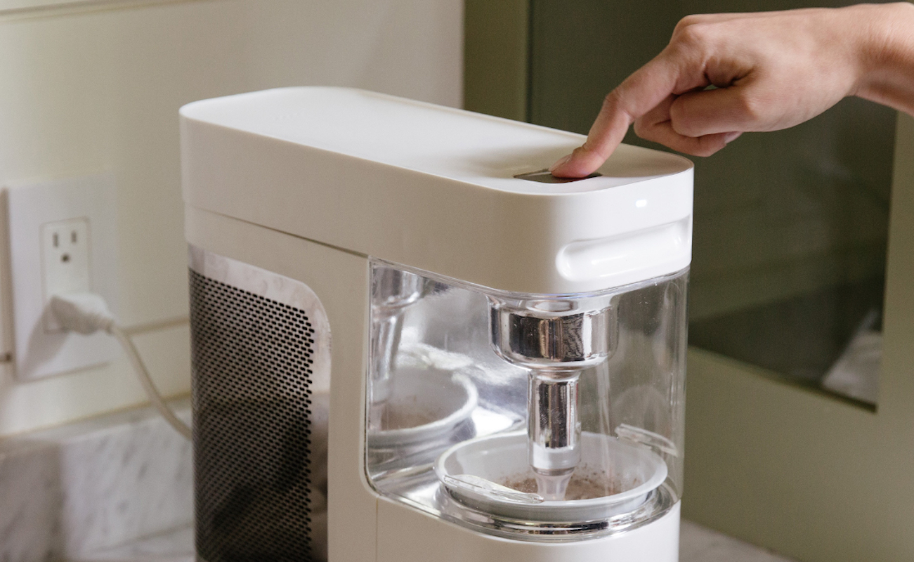 Wim Instant Frozen Yogurt Device