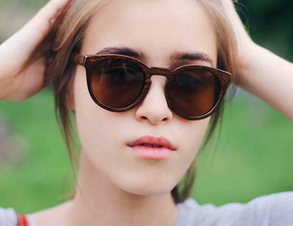 Vintage+Wooden+Sunglasses