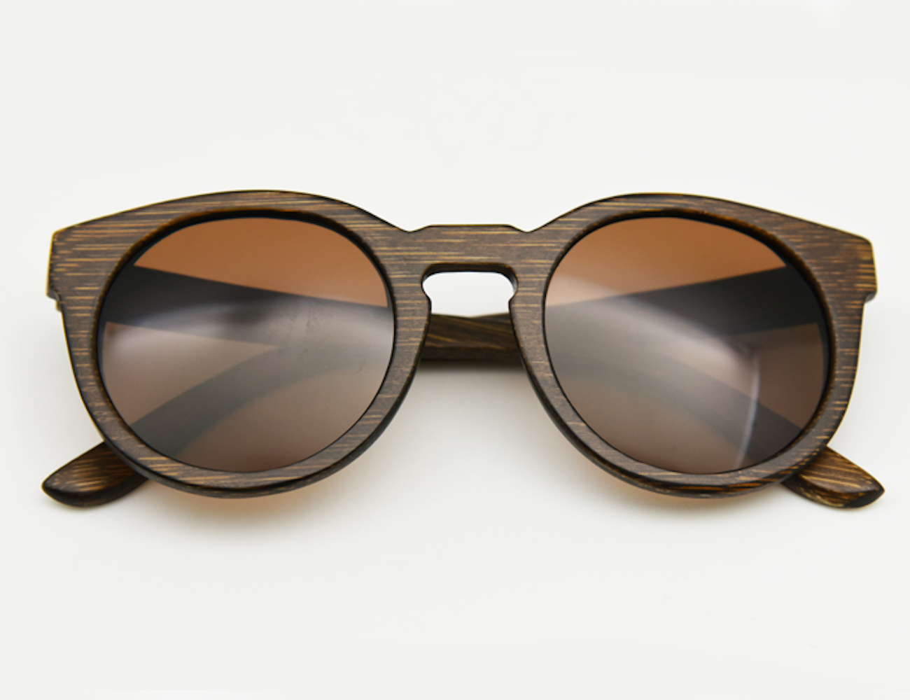 Vintage Wooden Sunglasses