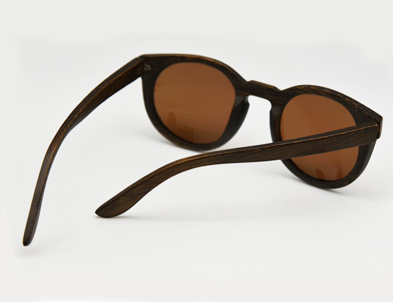 Vintage Wooden Sunglasses
