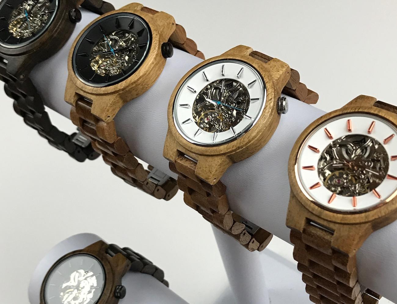 Woodgrain Minimalist Luxury Wood Watches