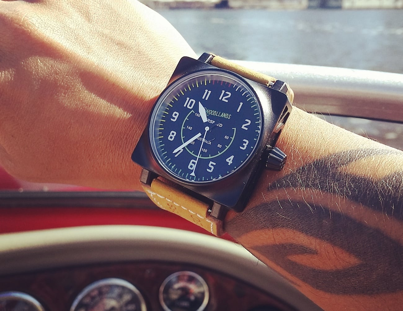 Woodllands Aviation Collection Handcrafted Watches