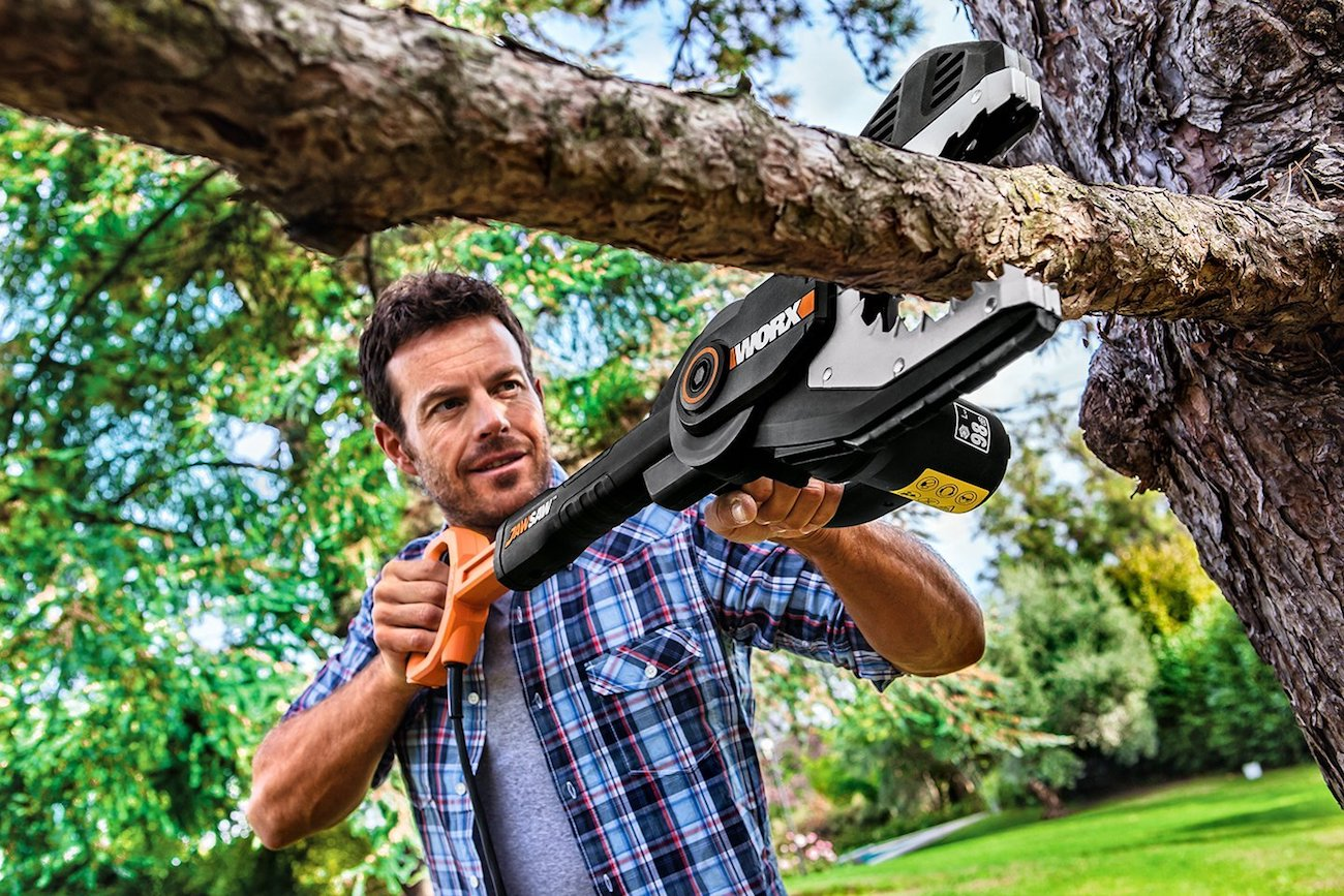 Worx+Cordless+Jawsaw+Handheld+Chain+Saw