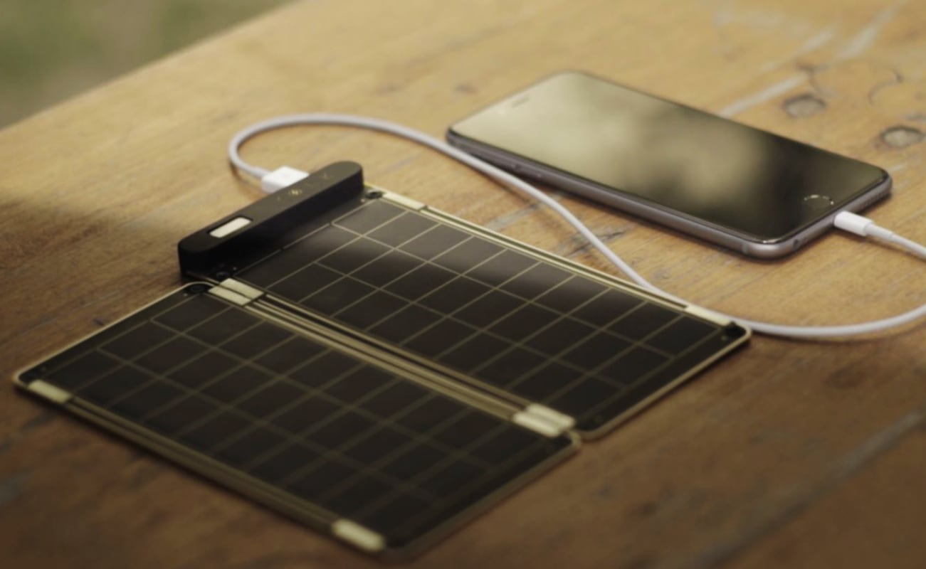 Yolk Solar Paper Lightweight Solar Charger