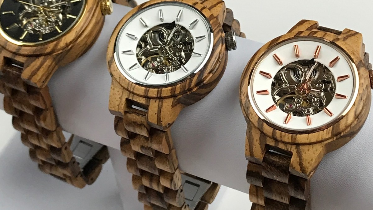 Enjoy Natural Luxury with Woodgrain Watches