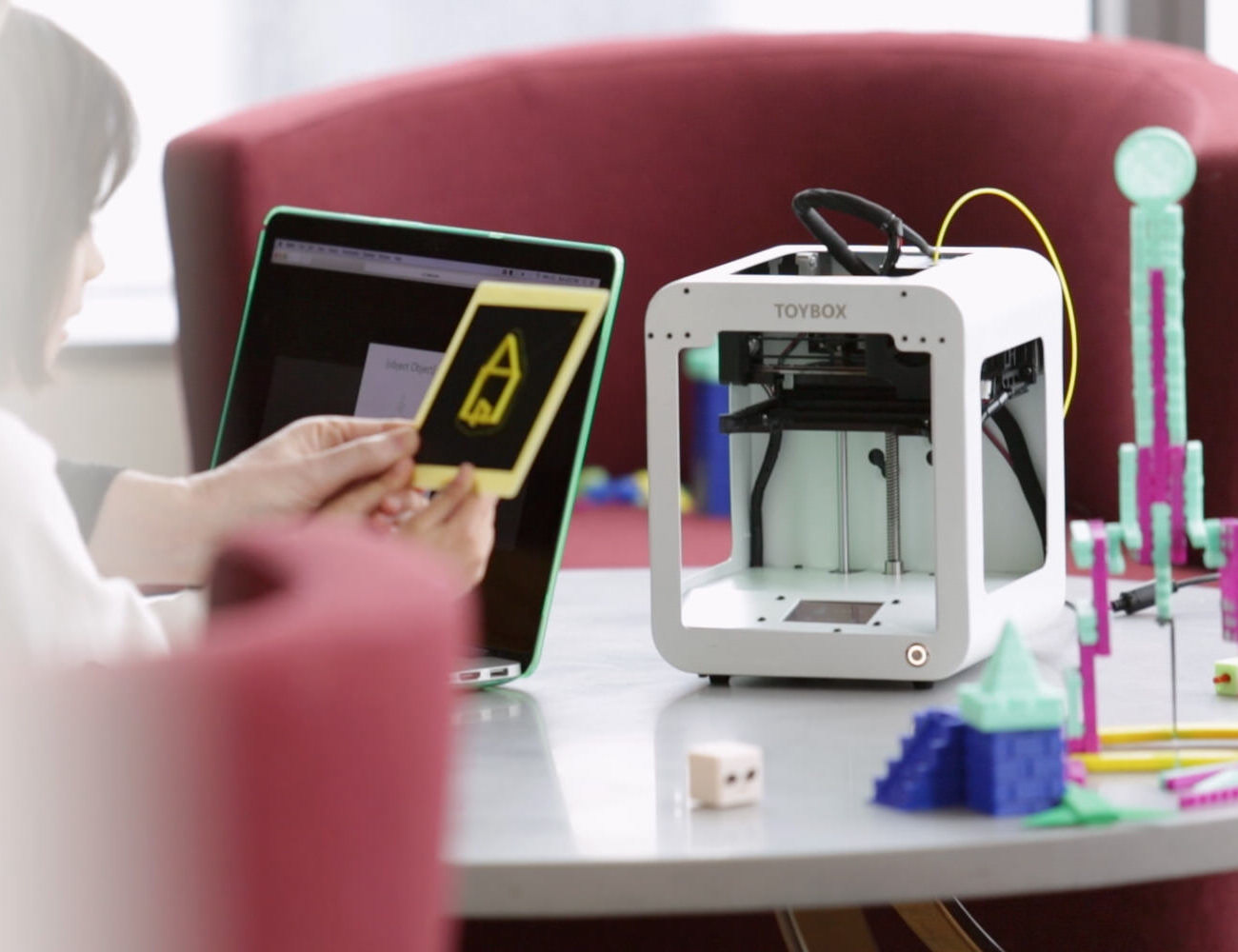 Toybox One-Touch 3D Toy Printer
