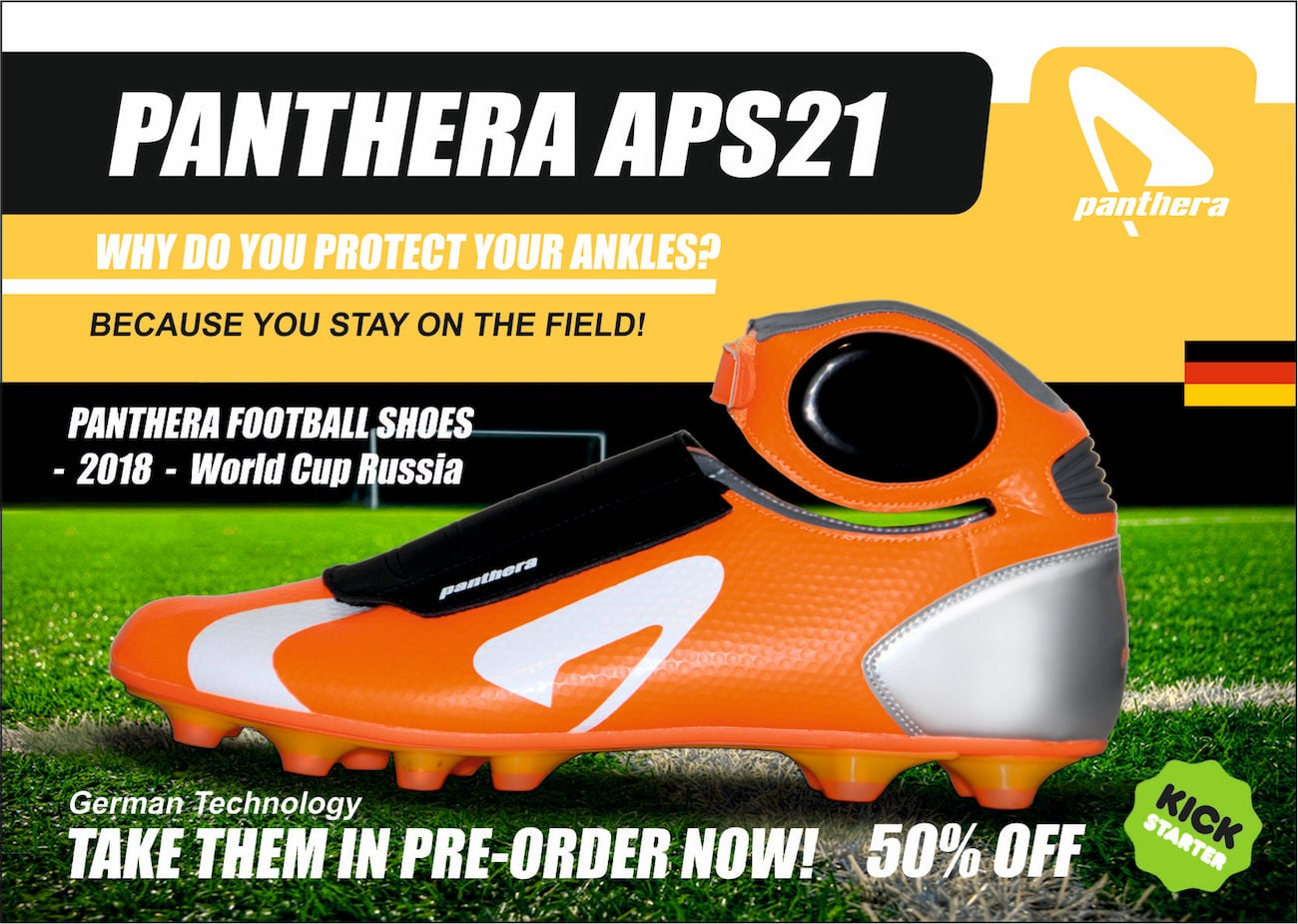 APS21 Panthera Ankle Protecting Football Shoes